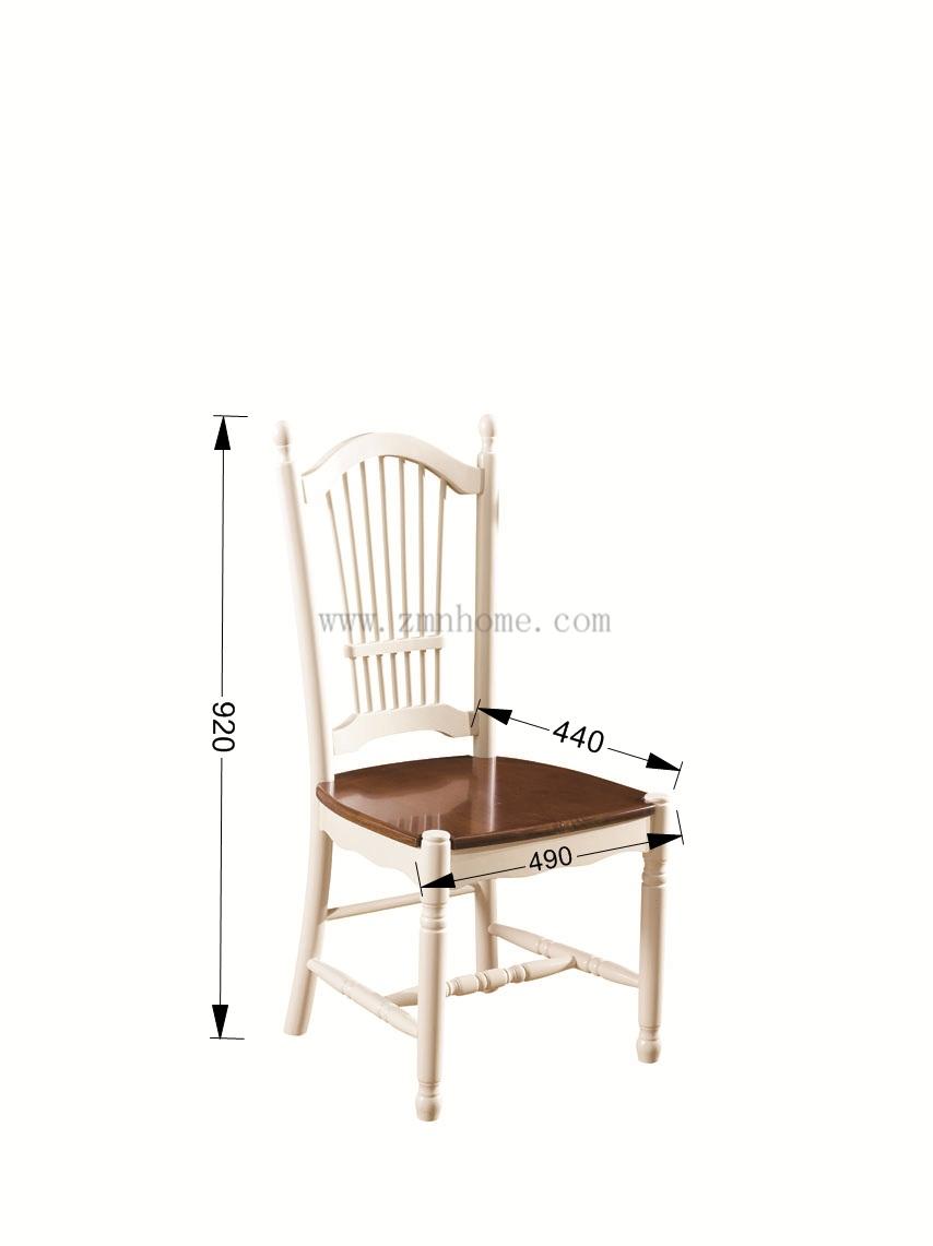 瓦楞纸椅子手绘图三视图